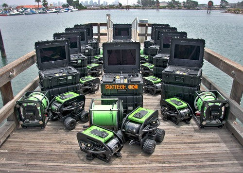 水下遥控式有缆机器人(ROV)
