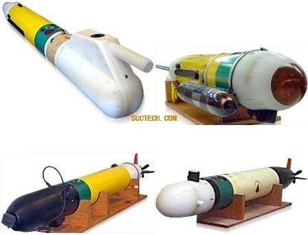 水下自主式无缆机器人(AUV)